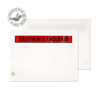 Blake Purley Packaging DL Printed Document Enclosed Wallet - Pack of 2000