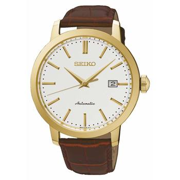 Seiko Presage Gold Plated Gents Watch SRPA28K1
