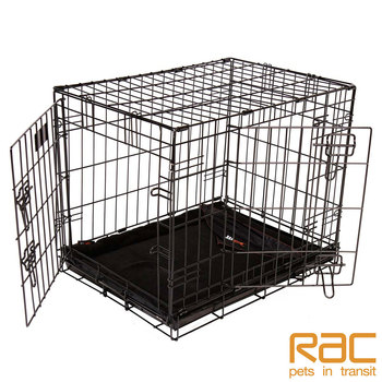 RAC Advanced Fold Flat Pet Crate and Mat in 5 Sizes