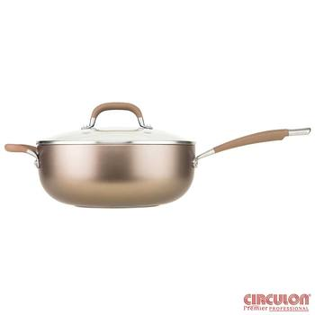 Circulon Premier Hard Anodized Induction 28cm Chef's Pan With Lid