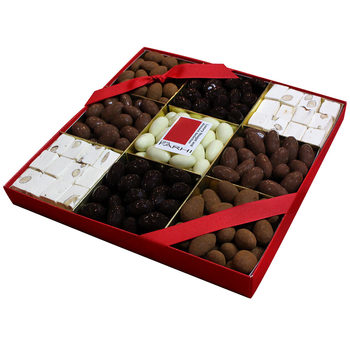 Rita Farhi Luxury Chocolate Almond & Nougat Selection Tray, 1.29kg