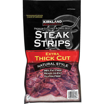 Kirkland Signature Extra Thick Cut Steak Strips, 300g