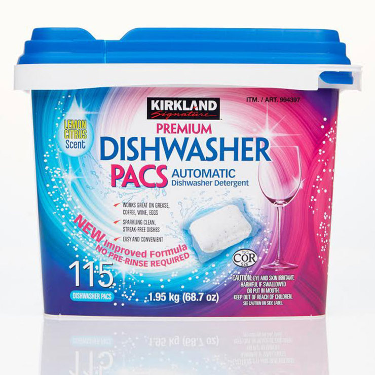 Kirkland Signature Dishwasher Tablets, 115 Pack | Costco UK