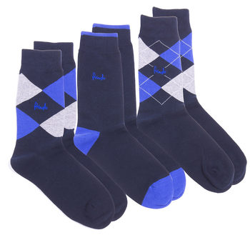 Pringle 2 x 3 Pack Waverly Men's Socks in 5 Colours