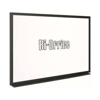 Bi-Office (600x450mm) Black Frame Whiteboard