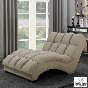 Boylston Fabric Double Chaise Lounger