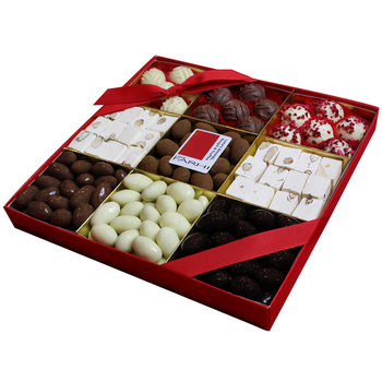 Rita Farhi Luxury Chocolate Almond, Truffles & Nougat Selection Tray, 1.056kg
