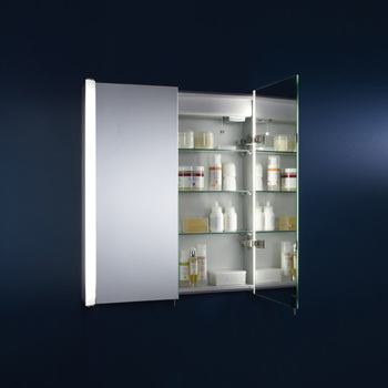 Tavistock Idea 610 Bathroom Double Cabinet, 70 x 61 x 14 cm - Model ID60AL