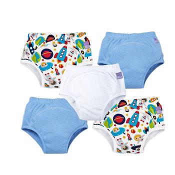 Bambino Mio Miosoft Reusable Training Pants for Boys, 5 Pack