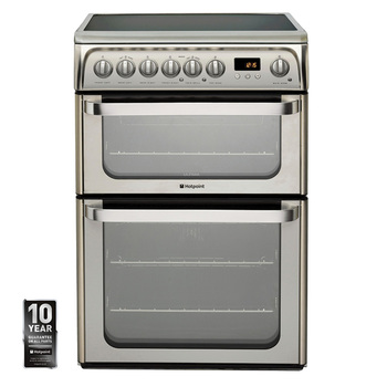Hotpoint HUE61XS Electric Cooker, 110 Litre