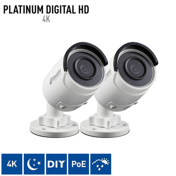 Swann NHD-880 4K Ultra HD Bullet Cameras Twin Pack