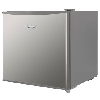 Kuhla Table Top Fridge in Stainless Steel, 43L