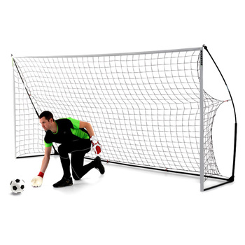 Kickster 12 x 6ft (3.6 x 1.8M) Portable Football Goal - 2 Pack