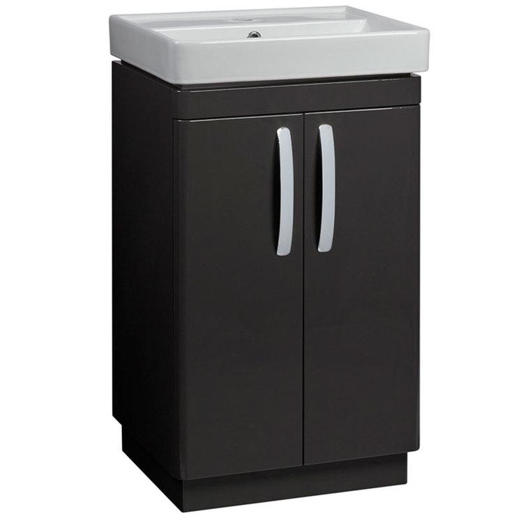 tavistock compass 500 free standing vanity unit with basin. Black Bedroom Furniture Sets. Home Design Ideas