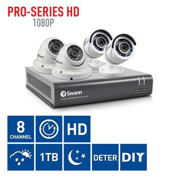 Swann DVR8-4575 8 Channel Digital Video Recorder with 2 x PRO-T852 & 2 x PRO-T854 Cameras