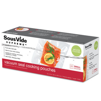 SousVide Vacuum Seal Cooking Pouches x 100, Small