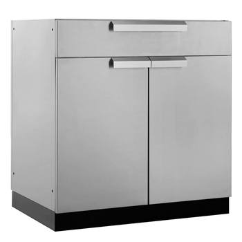 "NewAge Outdoor Kitchen 18 Gauge Stainless Steel 32"" (81cm) Bar Cabinet"