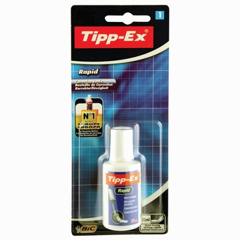 Tipp-Ex Rapid White Correction Fluid 20ml