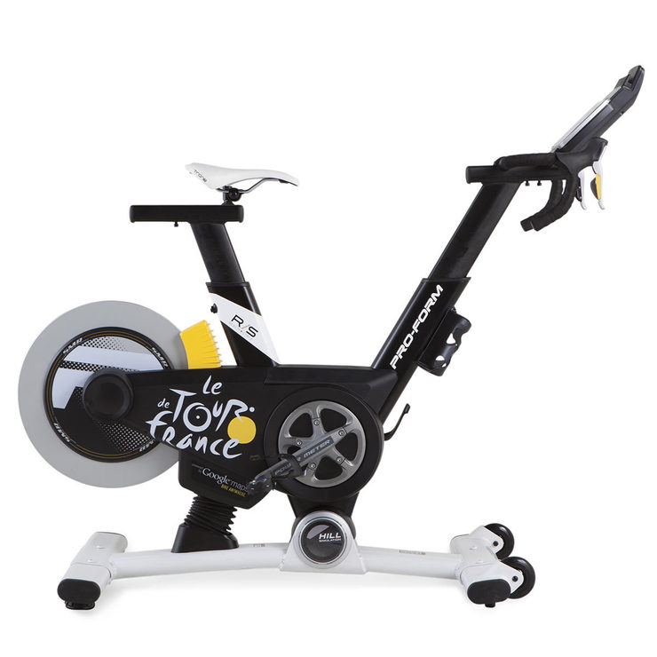 Google Maps Workout Bike