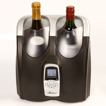 Hostess Twin Bottle Wine Chiller, HW02MB