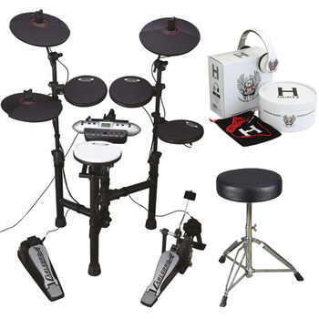 Carlsbro CSD130 Drum Kit with Accessories