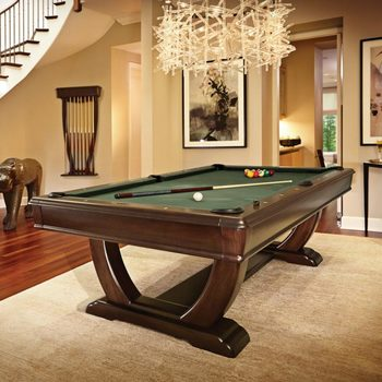 Brunswick DeSoto 8ft Pool Table in Green