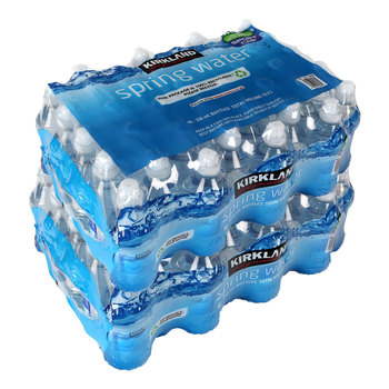 Kirkland Signature Natural Spring Water, 80 x 330ml Sports Cap Bottles