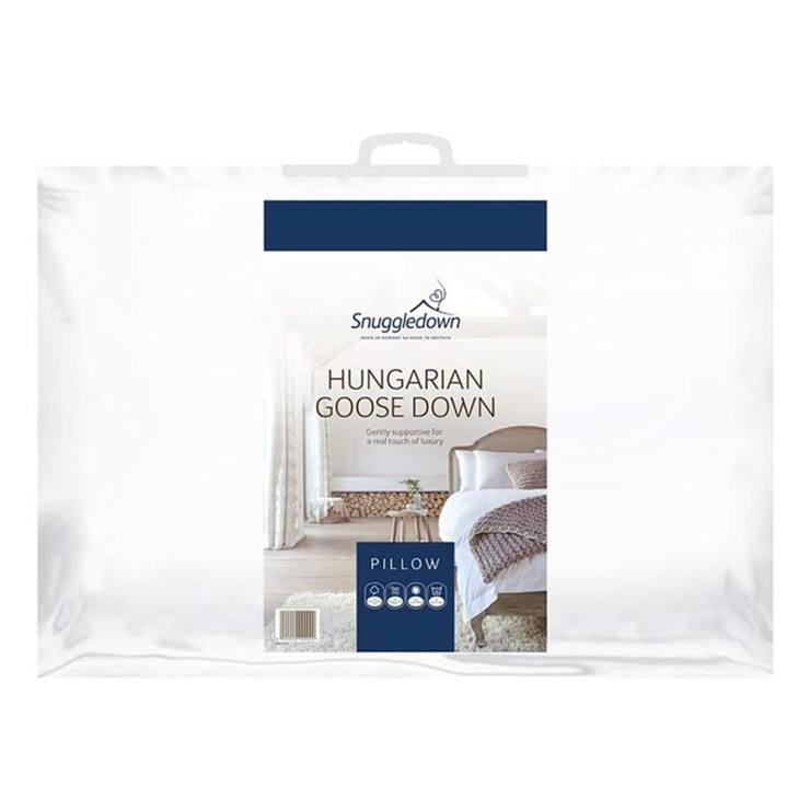 Snuggledown Hungarian Goose Down Pillow