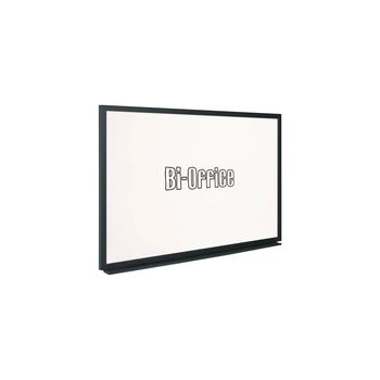 Bi-Office Whiteboard 600 x 900mm Black Frame