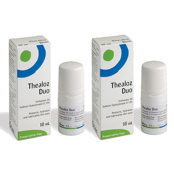Thealoz Duo Eye Drops, 2 x 10ml