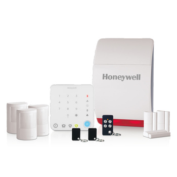 Honeywell Wireless Family Home Alarm Kit with Intelligent Control - Model HS351S
