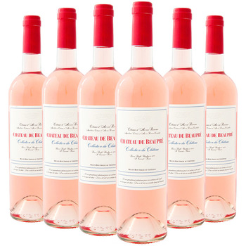 Chateau De Beaupre Rose 2011, 6 x 75cl Case