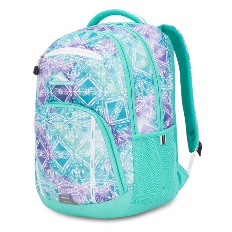 High Sierra RipRap Everyday Backpack in Aqua | Costco UK