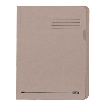 Elba 100pk Buff A4 Square Cut Lightweight Folder 180gsm
