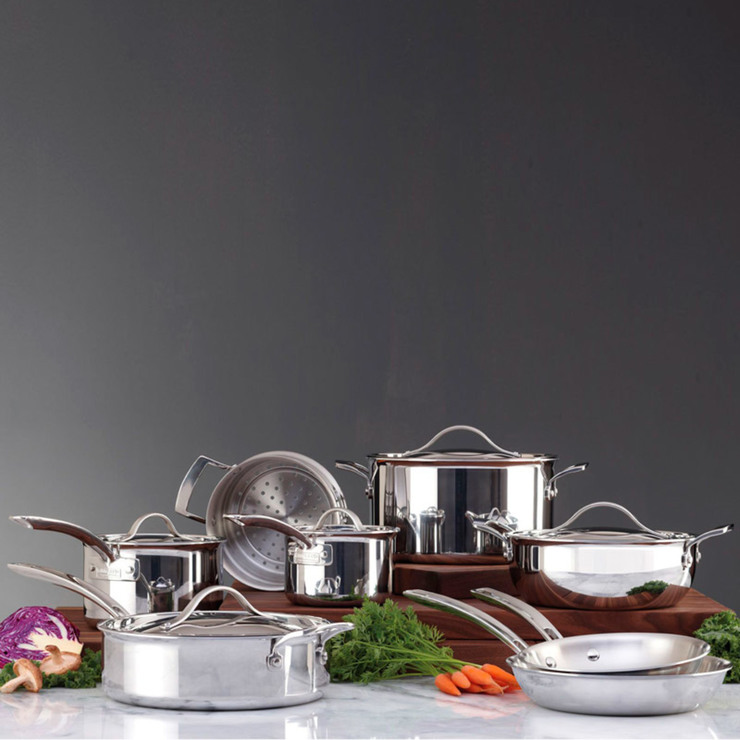 Costco Furniture Kirkland: Kirkland Signature Try-Ply Clad Stainless Steel Induction