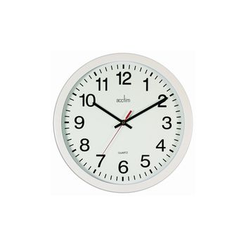 Acctim Controller Wall Clock in 2 Colours