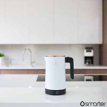 Smarter iKettle Wi-Fi Controlled Kettle in White & Rose Gold