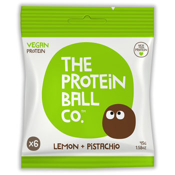 The Protein Ball Co. Lemon & Pistachio, 20x45g