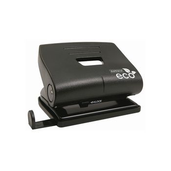 Rapesco Eco Black 2-Hole Punch (20 Sheet)