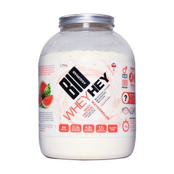 Bio-Synergy Whey Hey Watermelon Whey Protein Powder, 2.25kg (64 Servings)