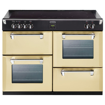 Stoves Richmond 1100 Ei Dual Fuel Range Cooker in Champagne