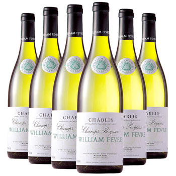 William Fevre Chablis Champs Royaux 2018, 6 x 75cl