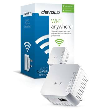 Devolo 9626 dLAN 550 WiFi Powerline Add-on Adapter
