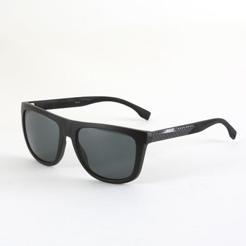 Hugo Boss Black Sunglasses with Blue Lenses, 0834/s HWMRA