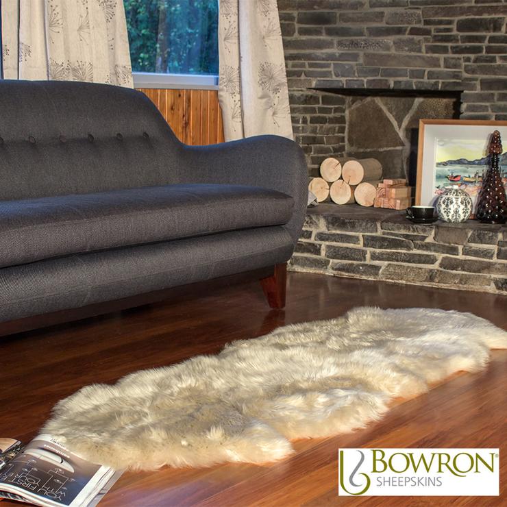 Sheepskin Rug At Costco: Bowron Longwool Sheepskin Rug In Stone