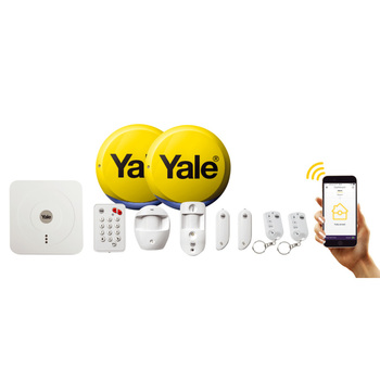 Yale SR-330+ Smart Home Alarm & View Plus Kit