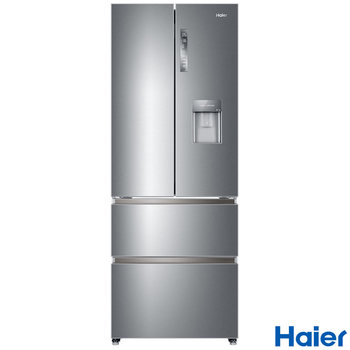 Haier HB16WMAA A+ Rating Multi Door Fridge Freezer in Stainless Steel