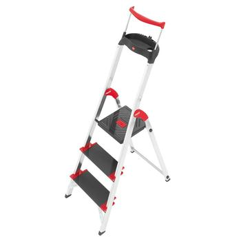 Hailo XXR 225 ChampionsLine 3 Tread Extra Deep Step Ladder
