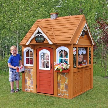 Solowave Cedar Summit Stoneycreek Cedar Playhouse (2-10 Years)