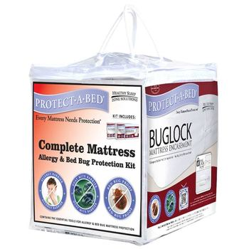 Protect-A-Bed Complete Mattress Allergy & Bed Bug Protection Kit in 4 Sizes